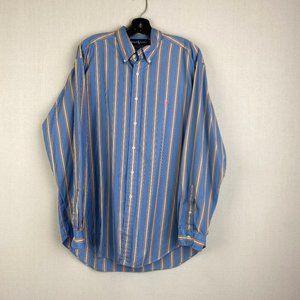 RALPH LAUREN Blue, Pink, Yellow Stripe Shirt
